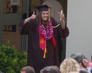 Graduation day at Cal Poly
