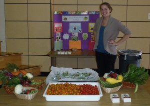 Dietetic internship elementary school food tasting