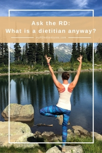 Pin now, read later. Ask the RD: What is a Dietitian anyway? What is the difference between an RD and a nutritionist?