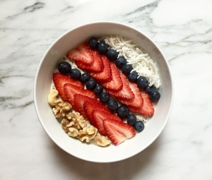 myRDadventures.com what's on my plate breakfast oatmeal overnight oats nutrition